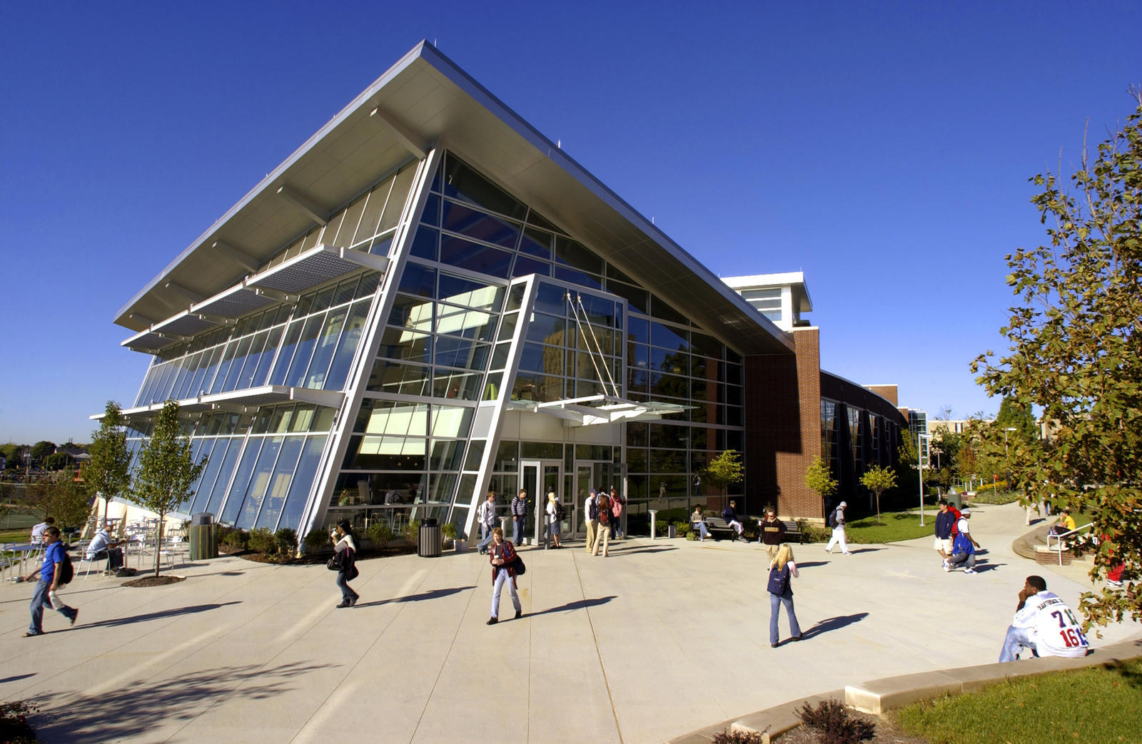 University Of Akron Student Union Food Court